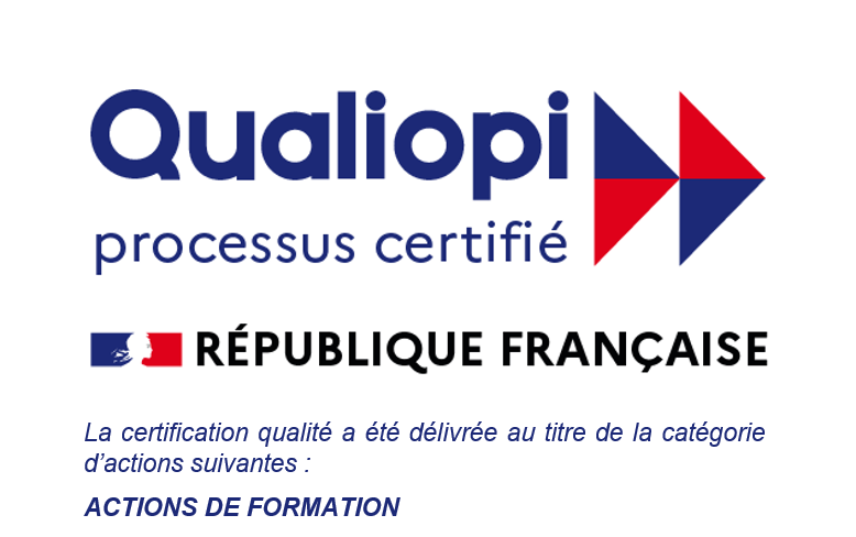 DB Formation France certification Qualiopi Qualité